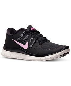 separation shoes 57509 4fe2f Nike Women s Free 5.0+ Running Sneakers from Finish Line Shoes - Finish Line  Athletic Sneakers - Macy s