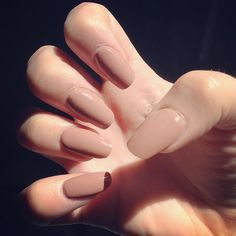 Image result for squared oval nails
