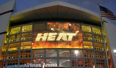 American Airlines Arena home of the Miami Heat
