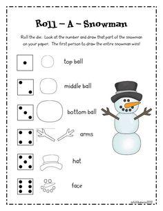 snowman pdf - Google Search