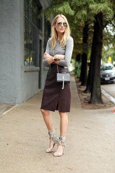 fashion-jackson-leather-pencil-skirt-grey-sweater-schutz-heels