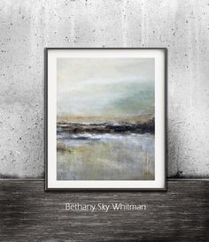 Abstract Landscape Printable Digital by UrbanDwellingGallery