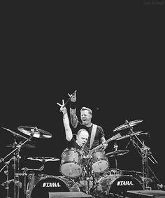 METALLICA James Hetfield and Lars Ulrich