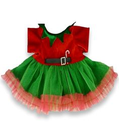 d70a48d4f360 Teddy Bear Clothes, fit Build a Bear, Girls Christmas Dress Teddy Clothing.  Build