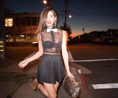 Cute #style #fashion #black