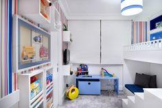 Nichos, caixas com rodízios e móveis sob medida organizam quarto da criança - Gravidez e Filhos - UOL Mulher