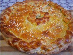 Пирог на кефире с капустой, грибами и фаршем