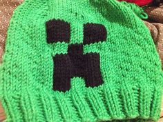 Ravelry: jenniferkm's Minecraft Creeper hat