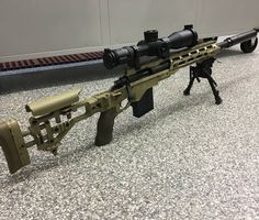 The new USMC Scout Sniper Rifle - the M40A6