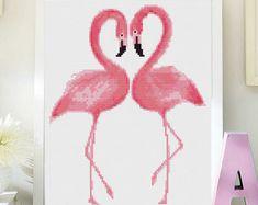 Cross stitch modern pattern unicornio punto de cruz moderno | Etsy Modern Cross Stitch, Cross Stitch Designs, Cross Stitch Patterns, Walnut Shell, Minnie, Pink Flamingos, Cross Stitching, Beading Patterns, Crafts To Make
