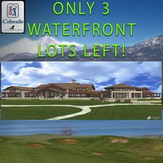 Only 3 Waterfront Lots left in Colorado's only TPC Golf Course Community Buy now before the PGA events begin. http://ift.tt/2vMuwTv Joyce Giard - Colorado Realtor - C3 Real Estate Solutions - www.JoyceGiard.com . Blue Water Road-Rookery Block 9 Lot 18 $625000 Minimum Home Size 6000 SF Blue Water Road-Rookery Block 9 Lot 20 $700000 Minimum Home Size 6000 SF Southwind Road-Rookery Block 9 Lot 21 $700000 Minimum Home Size 7000 SF . . #tpc #tpccolorado #pgacolorado #coloradogolf #pga #waterview…