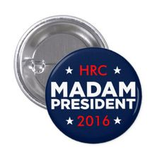 Hillary Clinton Campaign Buttons: #hillary #clinton #pins #buttons #campaign…