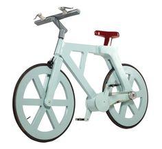Cardboard bike / Izhar Gafni