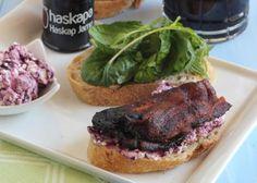 {TASTE OF NOVA SCOTIA} Haskap Bacon Sandwich