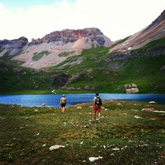 Ice Lakes is a beautiful hike to an alpine lake near Durango, Colorado.