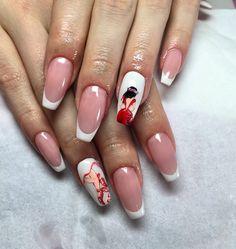 Nails art design ~ Lady ~ handmade ~