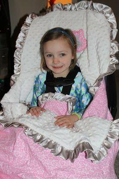 Carseat blanket for bigger kids