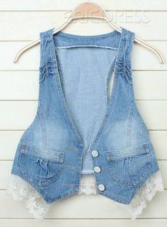 Classic Korean Style Vest, do u like this jean?