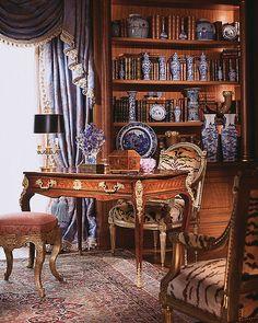 Home Office -  William R Eubanks Interior Design |