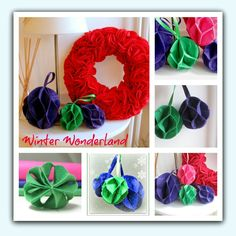 Get ready for Christmas with handmade felt decorations. Easy 'no sew' wreath and simple baubles. Suitable for a beginner. Happy crafting everyone, Helen