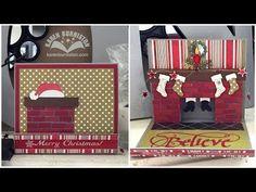 Dec 2015 Pop it Ups Designer Challenge: Home for the Holidays - I am not left-handed