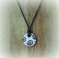 medallo / Prívesok Washer Necklace, Jewelry, Jewlery, Jewels, Jewerly, Jewelery, Accessories