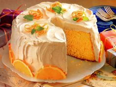 This light airy recipe for orange chiffon cake will leave your family and guests asking for more, with its' light and airy texture refreshing every bite.