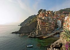 Riomaggiore and Camogli  Learn about these beautiful Ligurian villages.