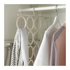 KOMPLEMENT Multi-use hanger - IKEA // I need this in my life. I have too many scarves!