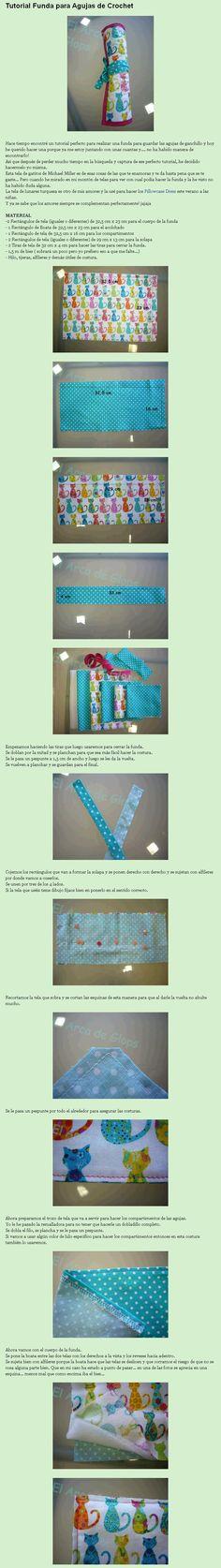 Tutorial Funda para Agujas de Crochet 1