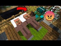 MC NAVEED TRIES TO WAKE UP SLEEPING VILLAGERS !! MARK FRIENDLY ZOMBIE APOCALYPSE MOD !! Minecraft