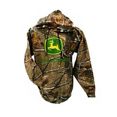 John Deere Realtree Hooded Sweatshirt | RunGreen.com