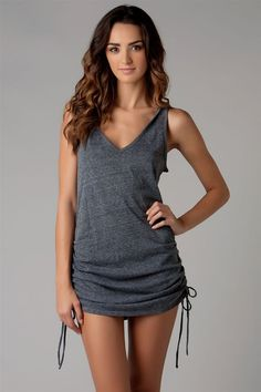 Eco Swims Eco Covers Tank Dress | Everything But Water  Love this for bathing suit cover up!