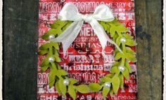 Tim Holtz 12 tags of Christmas…2010: Day 5