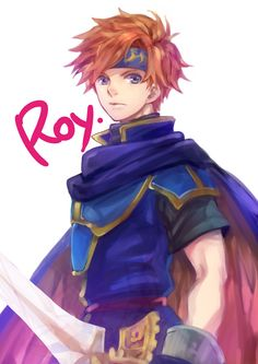 Roy By gimmemycereal on pixiv!