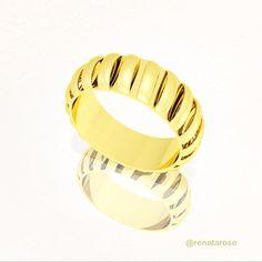 Anel Ninho em ouro amarelo