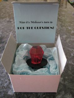 Ring Pop Ask Bridesmaids