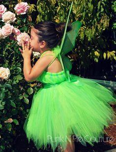 Tinkerbell tulle dress