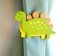 Curtain Tie Back - Dinosaur Nursery - Baby Girl - Baby Boy - Country Before Time Nursery - curtains- Baby Girl Nursery Themes, Nursery Twins, Baby Boy Rooms, Die Dinos Baby, Baby Dinosaurs, Plastic Dinosaurs, Baby Boys, Country Babys, Dinosaur Bedroom