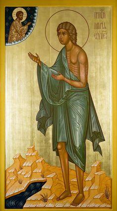 Byzantine Icons, Byzantine Art, Religious Paintings, Religious Art, Early Christian, Christian Art, St Mary Of Egypt, St Maria, Best Icons
