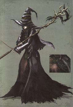 Beatrice the witch - Dark Souls I Dark Souls Characters, Fantasy Characters, Female Characters, Dnd Characters, Character Concept, Character Art, Concept Art, Character Design, Character Aesthetic