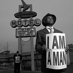 Memphis sanitation workers strike - the strike came to represent the broader struggle for equality within Memphis, whose many black residents lived disproportionately in poverty. I Am A Man! emerged as a unifying civil rights theme.