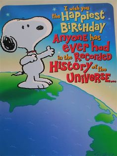 Snoopy Birthday - - Yahoo Image Search Results
