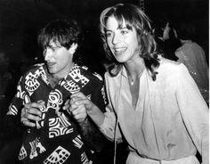 Robin Williams dancing with his wife, Valerie Velardi, at Studio 54 ~ April 12, 1979 Studio 54, Robin Williams