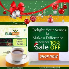 Get 10% Off Now This Winter : Get 10% Off Now This Winter Delight your senses & experience the finest tea with BudWhite Tea Shop Now-http://bit.ly/1ckx3pb | priyasaini