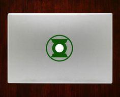 """Green lantern symbol Decal Sticker Vinyl For Macbook Pro/Air Decal Sticker Vinyl For Macbook Pro Air 13"""" Inch 15"""" Inch 17"""" Inch Decals"""