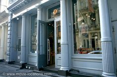 Highlander (1986). 71 Greene Street, SoHo, New York. Became 'Russell Nash Antiques' – supposedly on 'Hudson Street' – home of the immortal Scot Connor Macleod (Christopher Lambert).