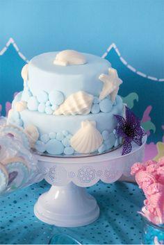 "Mermaids / Birthday ""Mermaid Mania 5th birthday"" | Catch My Party... Like the shells..."