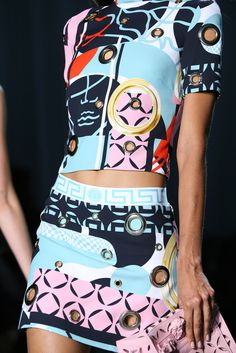 Versace Spring 2015 It's ALL GLAM | ZsaZsa Bellagio - Like No Other