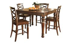 Porter Counter Height Extension Dining Table